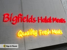 If you are in need of a new-generation neon sign, we can help you with that too. Our new-generation neon signs use LED tubes and come in a range of colours, shapes and sizes tro suit your business need. Custom Made Neon Signs, Neon Design, Led Tubes, Led Neon Signs, Signage, Suit, Range, Colours, Shapes
