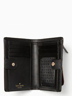 staci medium compact bifold wallet | Kate Spade New York