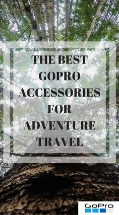 The best GoPro accessories for adventure travel. This is not a list of junk, it's stuff I use day in and day out. I'm always looking for good GoPro equipment that will work with whatever adventure I'm on. The gear must take my abuse and last what adventures we throw at it. Click to read The Best GoPro Accessories for Adventure Travel