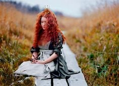 "Beautiful photo from the art book ""Maailman ihanin tyttö"" Photography Contests, Art Photography, Fairytale Fashion, Sweet Girls, Redheads, Book Art, Fairy Tales, Wonder Woman, World"