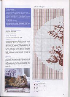 cross stitch De fil en aiguille No. 26 10 by V. Enginger with colour key
