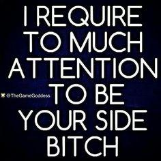 Woman not B!**h Hahaha yup!