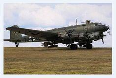 "Focke-Wulf Fw 200. C-8 ""Condor"" with Neptune radar and Hs-293 misslles."