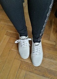 Kup mój przedmiot na #vintedpl http://www.vinted.pl/damskie-obuwie/trampki/16694408-trampki-creepersy-biale
