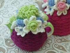 Hey, I found this really awesome Etsy listing at https://www.etsy.com/listing/74903891/2-cup-crochet-tea-cosycosiecozy-plum