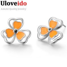 Find More Stud Earrings Information about Three Love Link the Flower Wholesale Lots Personalized Valentine's Day Ornaments Fashion Earring for Women 925 Silver Earring,High Quality fashion crystal earrings,China fashion earrings jewelry Suppliers, Cheap fashion earrings brand from D&C Fashion Jewelry Buy to Get a Free Gift on Aliexpress.com