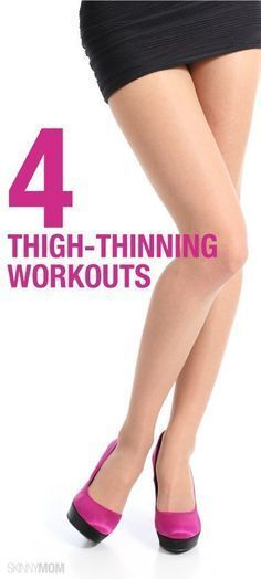 Thin your thighs with this slimming workout! #thighworkout