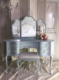 Jun 2019 - French Linen Furniture – Page 2 – Elegant and timeless French inspired furniture Blue Painted Furniture, Painted Chest, Chalk Paint Furniture, French Furniture, Homemade Furniture, Diy Outdoor Furniture, Upcycled Furniture, Boys Bedroom Furniture, Girls Bedroom