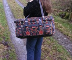 carpet bag antique oriental rug carryall by travellinglight