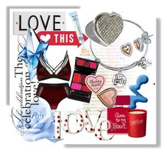 """""""I am Loved..."""" by foolsuk ❤ liked on Polyvore featuring Rosanna, Topshop, Bella Freud, Thierry Mugler and jewels"""