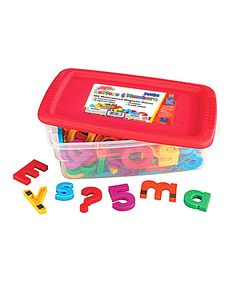 Jumbo Alphamagnets & Mathmagnets Set