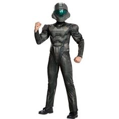 The Halo Adult Spartan Locke Muscle Costume is the perfect 2019 Halloween costume for you. Show off your Mens costume and impress your friends with this top quality selection from Costume SuperCenter! Teen Boy Costumes, Costumes For Teens, Adult Costumes, Men's Costumes, Costume Ideas, Foxy Costume, Robin Costume, Batman Dark, Batman The Dark Knight