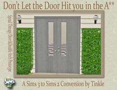 SIMS2: Don'tLettheDoorHitYouintheA** - Downloads - BPS Community