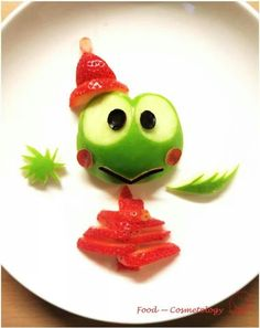 Cute apple