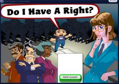 This on-line game, part of a civics site founded by Justice Sandra Day O'Connor, really tests users' understanding of Constitutional rights.   Playing games on the internet is one way to enhance students understanding of citizenship become more engaged when they are doing something hands on.