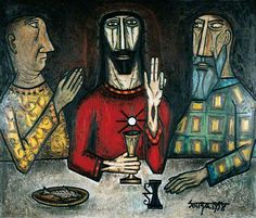 Supper at Emmaus with the Believer and the Sceptic- FN Souza