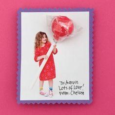 Fun valentine's day picture card!