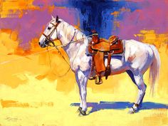 horse painting by Julie Chapman