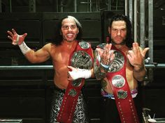 Firstly, the former Raw Tag Team Champions and WWE Legends, The Hardy Boyz (Jeff Hardy and Matt Hardy), made delightful entrances as the first announc. Jeff Hardy, The Hardy Boyz, Watch Wrestling, Wrestling Stars, Wrestling Wwe, Wwe Superstars, Wwe Raw And Smackdown, Wrestlemania 33, Sheamus