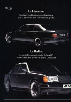 Mercedes - Benz E Class W124 AMG Brochure