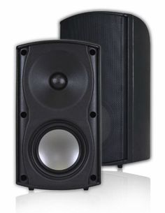 Outdoor Patio Speakers Deck Pool Garden Spa Indoor 100W Premium Sound Black New  #AudioOSD