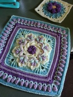 Ravelry: Project Gallery for Tropical Delight pattern by Susan Stevens