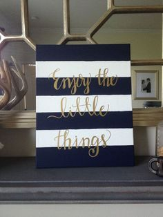 Enjoy the little things #quotes