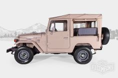 1980 Toyota Land Cruiser FJ40 Beige #fjco1980beige #fjcompany #toyota #landcruiser #fj40 #fjrestoration