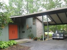 Mid Century Exterior Home Colors Modern Dream