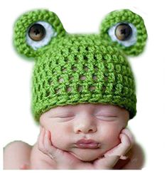 Froggy Baby Hat. Man