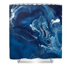 Undertow  Shower Curtain