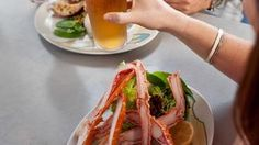 """Seafood Snack onboard Royal Caribbean - Avoya Travel Article: """"Best Cruise Ship Food at Sea"""""""