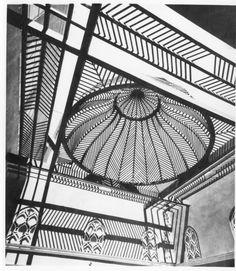 Hassan Fathy - House of Mme Manasterly (Attiya Hanem Abu Usbu). Vernacular Architecture, Islamic Architecture, Interior Architecture, Arabic Design, Travel Log, Old World Charm, Construction, Book Nooks, Silhouette
