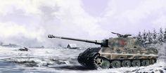 German Tiger II #artwork