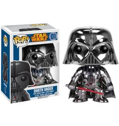 Darth Vader Chrome Pop Vinyl - Main Image