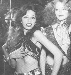 Groupies!!!!!  Sable Starr and Lori Maddox  I would kill to be a groupie in the 70's!