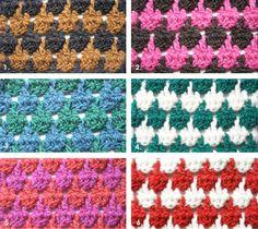 Pied-de-poule haaksteek - opsteker van de maand Crochet Diagram, Crochet Shawl, Diy Crochet, Different Crochet Stitches, Crochet Stitches For Beginners, Cross Stitch Patterns, Crochet Patterns, Crochet Accessories, Crochet Projects