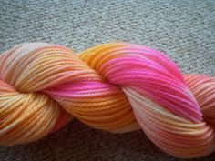 Dying Yarn with Easter Egg Colors