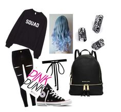 """Untitled #4"" by nagyanita on Polyvore featuring River Island, Converse and Joomi Lim"