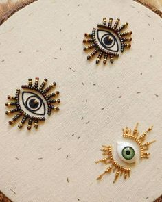 "Evil eye beaded earrings Tasseled eye drop earrings Green eyes earrings Fashion jewelry Beaded earri - Makeup TipsArt And Craft JewelrySilver Necklace With GemstonesSearch Results for ""earrings"" – Burkee Bedding Inn Embroidery Hoop Art, Beaded Embroidery, Cross Stitch Embroidery, Embroidery Patterns, Sewing Patterns, Diy Fashion, Classic Fashion, Bohemian Fashion, Fashion Vintage"