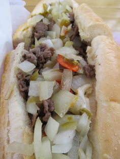 Frankie's Philly Cheesesteak from Dogma Grill In Miami, Florida