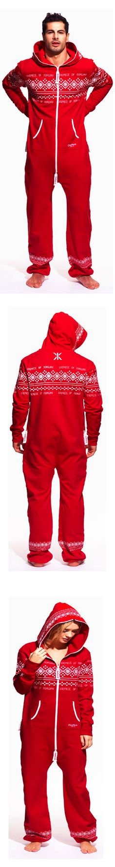 The Norwegian Onepiece worn by celebrities may be the perfect Christmas morning pajamas. Buy One, Get One 50% Off Sale is On!  I can see the fashionista couple sporting a pair of these.  Cute pictures!!