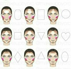 Contouring for every face shape