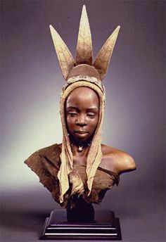 "Creager Studios - ""Herero Woman""   Please do check out the Creager Galleries, their work is top notch."