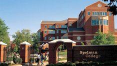 Entrance to Spelman College, an all women college in Atlanta, Georgia