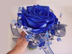 bridal bouquet white roses purple iris - Google Search