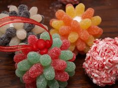 My Past Christmas Crafts - Housewife Eclectic Christmas Candy Crafts, Candy Christmas Decorations, Holiday Crafts, Holiday Fun, Christmas Ornaments, All Things Christmas, Christmas Holidays, Christmas Ideas, Christmas Porch