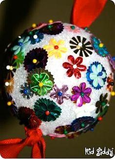 DIY ornaments christmas crafts