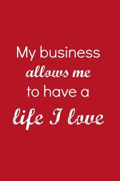 My business allows m