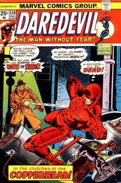 Daredevil #124 first appearance of Copperhead.
